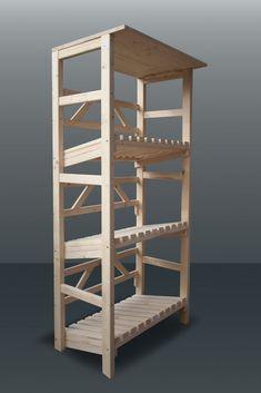 Getränkekisten Schrank getränkekisten regal aus fichtenholz für 6 kisten polartraum
