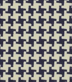 Robert Allen @ Home Upholstery Fabric-Square Pegs Navy