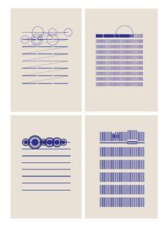 'Regresiones. O volver al pasaje ambivalente', de Hamo Studio Philip Glass, Schedule Design, Sheet Music Art, Bjork, Information Design, Planner Template, Assemblages, Visual Communication, Graphic Design Typography