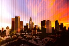 These images by LA-based motion designer Michael Marker-Moore are time slice photographs, created as a montage of individual pictures of the same location at different times of the day. The subjects for this inspired project are cities across North America (New York, Chicago, Toronto, etc) and they are portrayed through a fresh, visually stimulating lens..... http://illusion.scene360.com/art/67677/amazing-time-slice-photography/