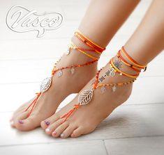 Boho Sandals, Sandals Outfit, Bare Foot Sandals, Shoes Sandals, Shoe Pie, Hippie Shoes, Bohemian Shoes, Beach Feet, Diy Braids