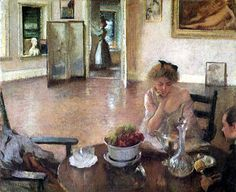 Edmund C. Tarbell 'The Breakfast Room', 1902-1903.