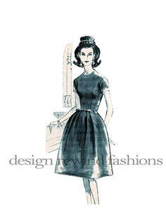 1960s SUZY PERETTE Cocktail Dress w/ by DesignRewindFashions, $80.00