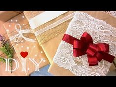 DIY Christmas Gift Wrapping Ideas   How to Make a Gift Bow - YouTube