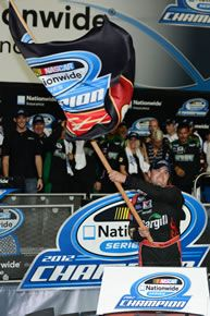 Ricky Stenhouse Jr. after winning the 2012 NASCAR Nationwide Series Championship in Miami!