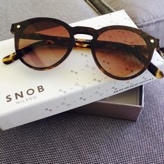 My Snob sunglasses