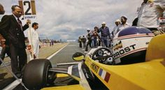 Alain Prost - Renault RE30 - French Grand Prix - 1981