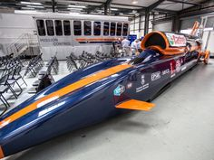 Take a close look at the rocket-powered car that's set to achieve speeds of 1,000mph, including components built by 3D printers. via cnet 20140623