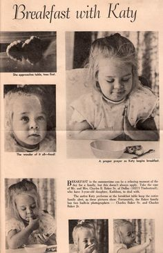 """I thought I would share a little bit of whimsical """"history"""" with my sunshine sisters~ my brother was a photographer, my dad was in advertising, it ran in the Sunday section of The Dallas Times Herald, many moons ago...~Kati Sullivan Cavanaugh"""