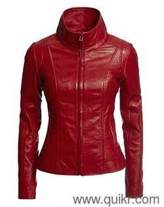 Leahter Jacket for ladies