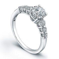Jeff Cooper R-3180,  $2300  Love,  Genesis Diamonds  www.genesisdiamonds.net  #JeffCooper #stunning #lovely