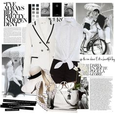 Black and White Sensations, created by lalixie on Polyvore