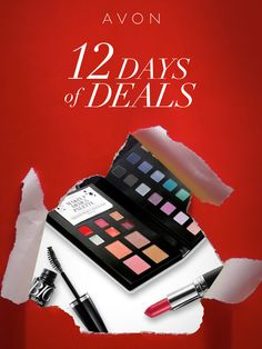 December 2nd-13th: Celebrate the #AvonHoliday season with 12 days of deals. Cross everyone off your list and check back every day for a new deal! http://eseagren.avonrepresentative.com/ #AvonRep #avon #deal #coupon #free