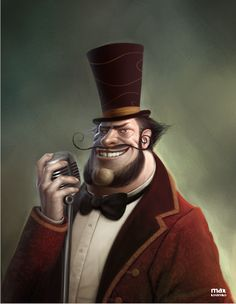 Characters and illustrations by Max Kostenko, via Behance