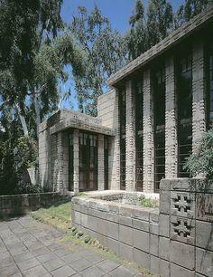 Storer Residence | 1923 | Los Angeles, California | Frank Lloyd Wright