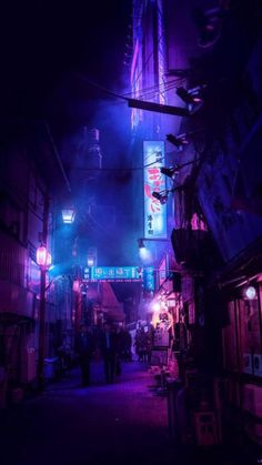 Cyberpunk Aesthetic, Night Aesthetic, Cyberpunk Art, Purple Aesthetic, Aesthetic Bedroom, Aesthetic Outfit, Aesthetic Dark, Aesthetic Gif, Aesthetic Grunge