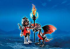 4793 - Guerriero asiatico con giovane drago (Playmobil Special)