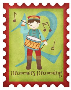 Twelve Drummers Drumming By Anita Van Hal Twelve Days Of Christmas, Christmas Morning, Apostles Creed, Tree Tops, Epiphany, Thing 1 Thing 2, Special Day, Wind Chimes, Needlepoint