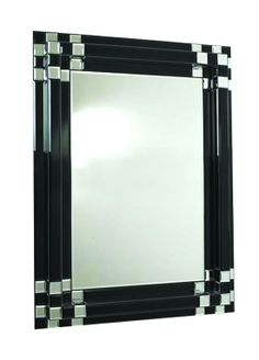 Art Deco Borders | You are here > Home > Mirrors > Art Deco Raised Black Border Mirror