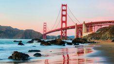 Wallpaper Bridge, Sky, Architecture, City, Water, Landscape