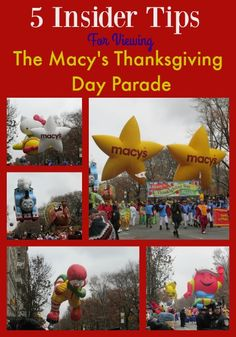 5 Insider Tips For Viewing The Macy's Thanksgiving Day Parade