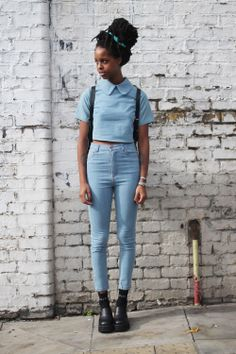 TWP High Waist Skinny Jean Blue - http://www.thewhitepepper.com/collections/bottoms/products/twp-high-waist-skinny-jean-blue-1