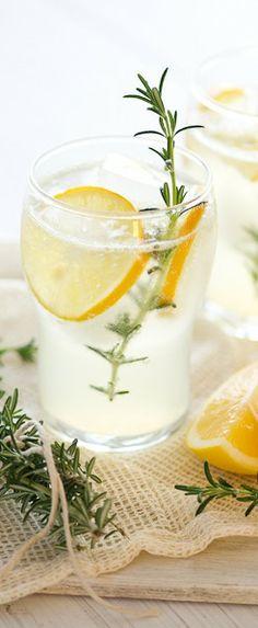 Meyer Lemonade with Rosemary
