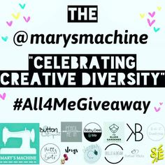 A STACK OF PRIZES ALL FOR YOU (not to share not for your other half and definitely not for your children) . To celebrate the diversity of all things creative @marysmachine have brought together 13 awesome makers to offer you a chance to win some of their wares. . Each maker has offered a wonderful prize and the pot will be split between 2 lucky winners.  We have clothing homeware candles pampering products jewellery stationery wearable art and even the chance for you to get creative too…