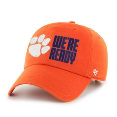 '47 Clemson Tigers Orange 2016 College Football Playoff Bound We're Ready Clean Up Adjustable Hat