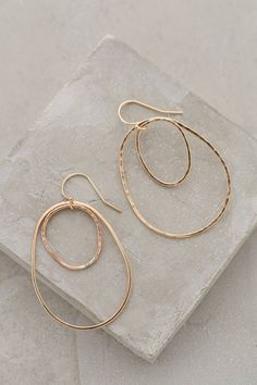 Orbited Hoops - anthropologie.com