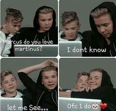 Love Marcus and Martinus! Keep Calm And Love, Do Love, Cute Twins, Cute Boys, Dream Boyfriend, I Go Crazy, Love U Forever, Brotherly Love, Twin Brothers