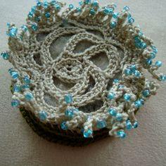 Medusa freeform crochet brooch. $19,50, via Etsy.