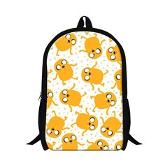 Cute Designer Illustrated Animal Durable High-Quality Unisex Backpack 19 Patterns