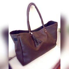 Bag ecopelle chocolate