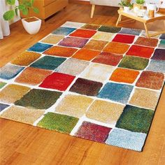 Contemporary, Rugs, Pattern, Home Decor, Products, Farmhouse Rugs, Decoration Home, Room Decor, Patterns