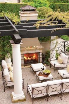 Esterno con pergolato - L'ambiente outdoor diventa un angolo suggestivo con i pergolati in legno per esterni