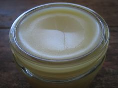 First-Aid Antiseptic Ointment made with beeswax and essential oils.
