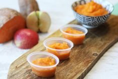 Sweet potato is an ideal first food for your weaning baby due to it's natural sweetness and smooth texture when blended. The combined apple in this simple recipes adds another layer of flavour while slightly increasing the texture. Your baby will love this treat! Ingredients1 sweet potato, peeled a