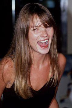 Kate Moss' 90s fringe
