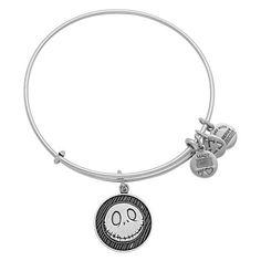 Disney Charm Bracelet - Jack Skellington - Alex and Ani - Silver