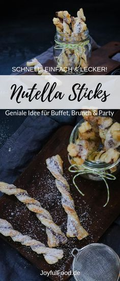 Nutella Sticks ideas recipe for super fast, delicious and totally simple . - Nutella sticks Recipe for super fast, delicious and totally simple Nutella sticks. Easy Healthy Recipes, Gourmet Recipes, Snack Recipes, Easy Meals, Dessert Recipes, Desserts, Easter Recipes, Appetizer Recipes, Appetizers