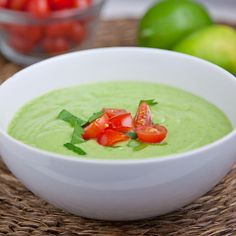 The blender is good for more than just smoothies - you can make soup too! #rawdiet #nutrition | everydayhealth.com