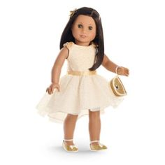 Gorgeous Gold Outfit for Dolls | clothingtm | American Girl