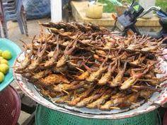 Strange foods in Cambodia for foreigners | Theideacambodia