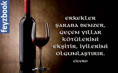 Erkekler şaraba benzer, geçen yıllar kötülerini ekşitir, iyilerini olgunlaştırır. Cicero