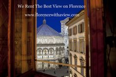 Florence views from the Santa Maria window
