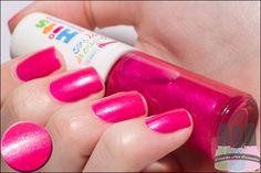 Hits: rosa neon com glass flecks. Bora ajudar as crianças! kkk