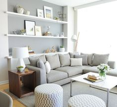 Cozy-Grey-Living-Room-with-Patterned-Upholstery-658x600
