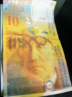 Le Corbusier on a 10CHF bill. Used these this summer :)