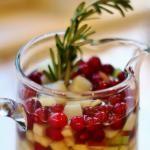 Winter White Sangria [cocktail recipe] - this was AMAZING